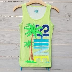 Justice   Palm Graphic Tank